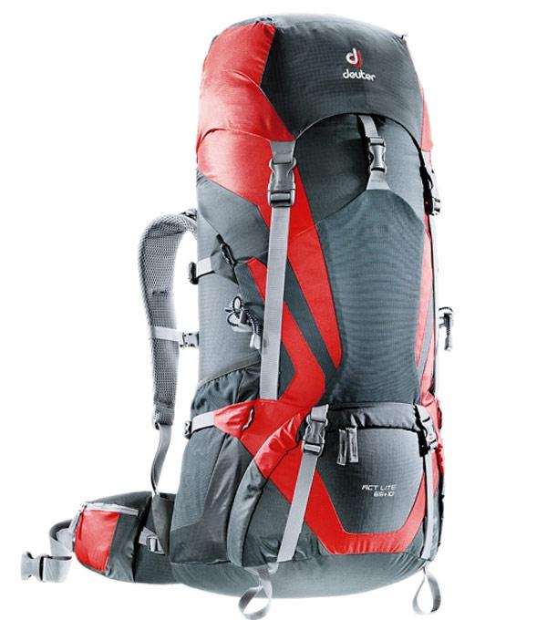 Туристический рюкзак Deuter ACT Lite 65+10 granite-fire