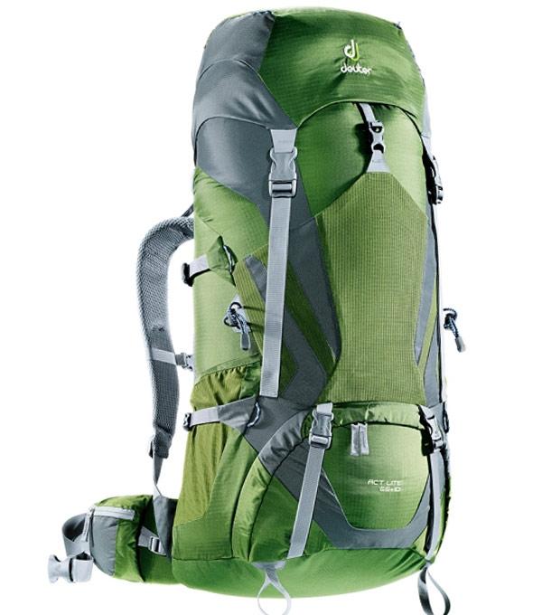 Туристический рюкзак Deuter ACT Lite 65+10 pine-granite
