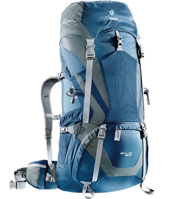 Туристический рюкзак Deuter ACT Lite 75+10 midnight-granite