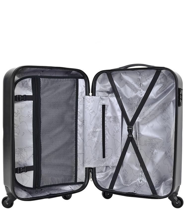 Средний чемодан Global Case GC030-AF148-24 - серый