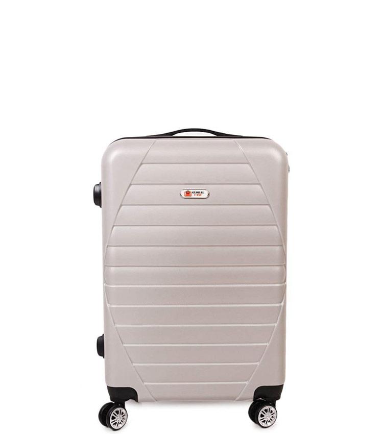 Малый чемодан Global Case GC030-АF149 -20 - бежевый