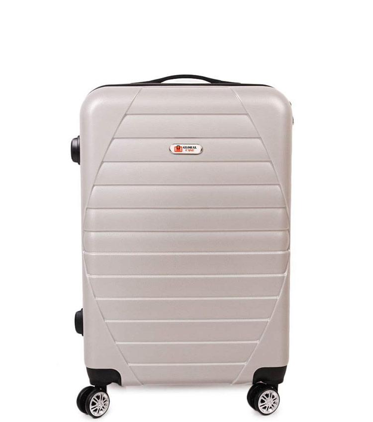 Средний чемодан Global Case GC030-АF149 -24 - бежевый