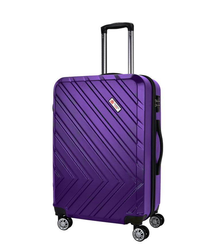 Малый чемодан Global Case GC031-АF078-20 - фиолетовый