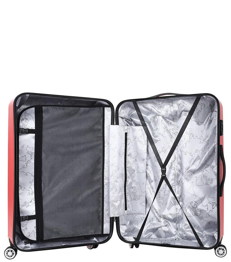 Большой чемодан Global Case GC031-АF079-28 - красный