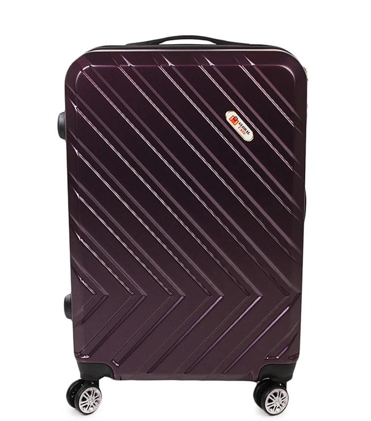 Большой чемодан Global Case GC031-АF088-28 - тёмно фиолетовый
