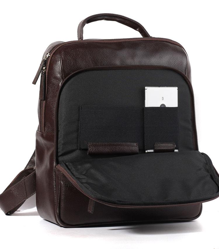 Кожаный рюкзак Galanteya 20616 black