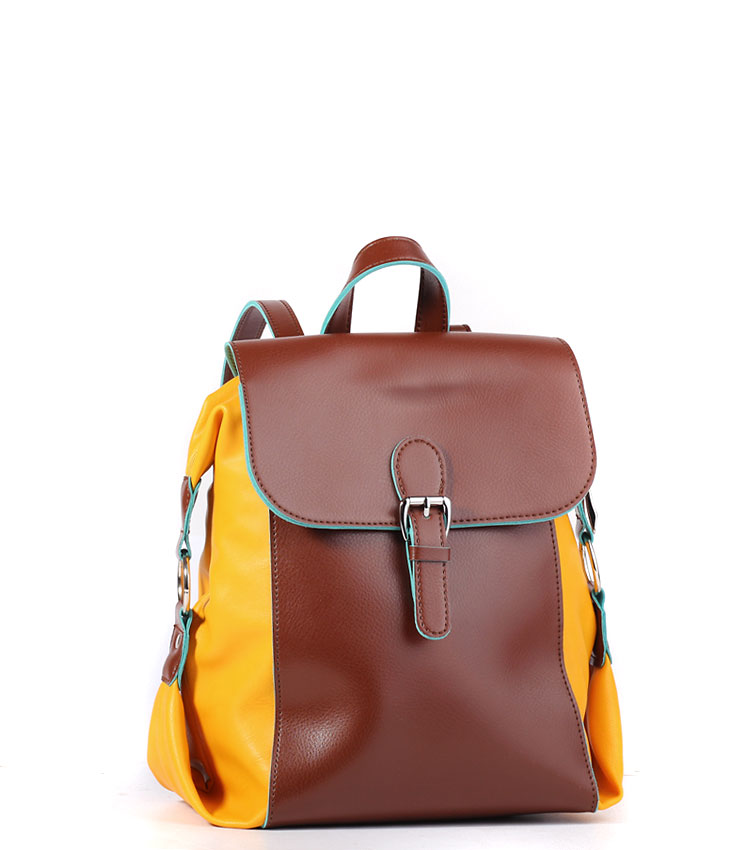 Женский рюкзак Galanteya 23414 brandy-yellow