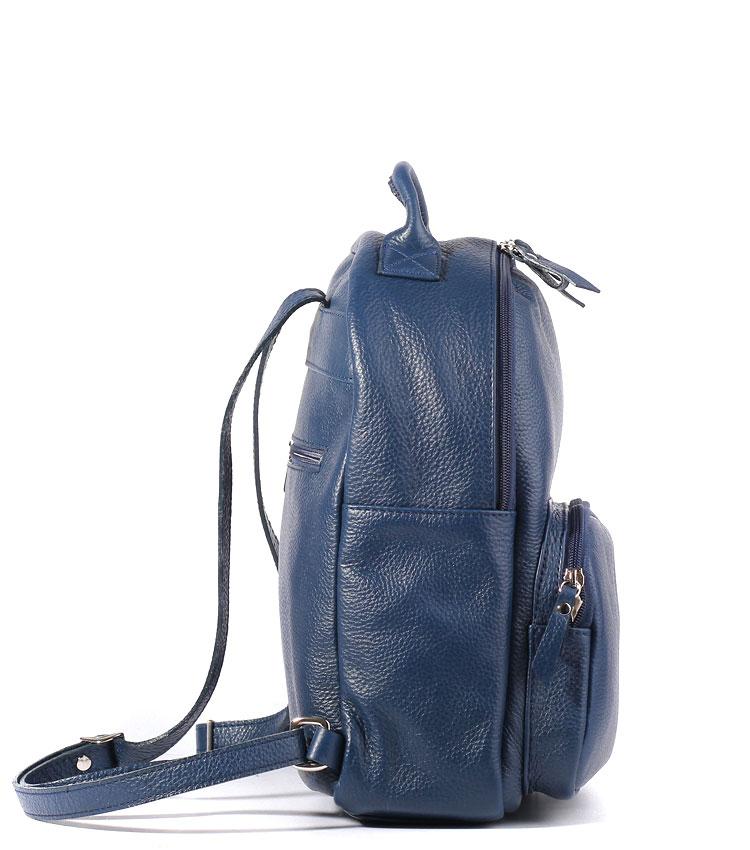 Кожаный рюкзак Galanteya 32815 blue