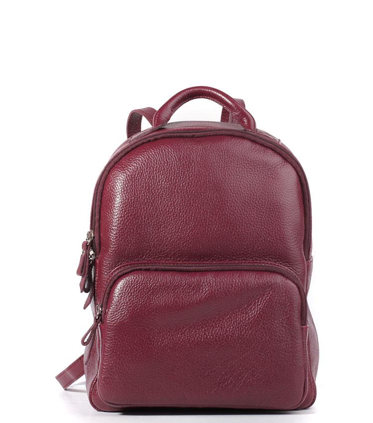 Кожаный рюкзак Galanteya 32815 bordo