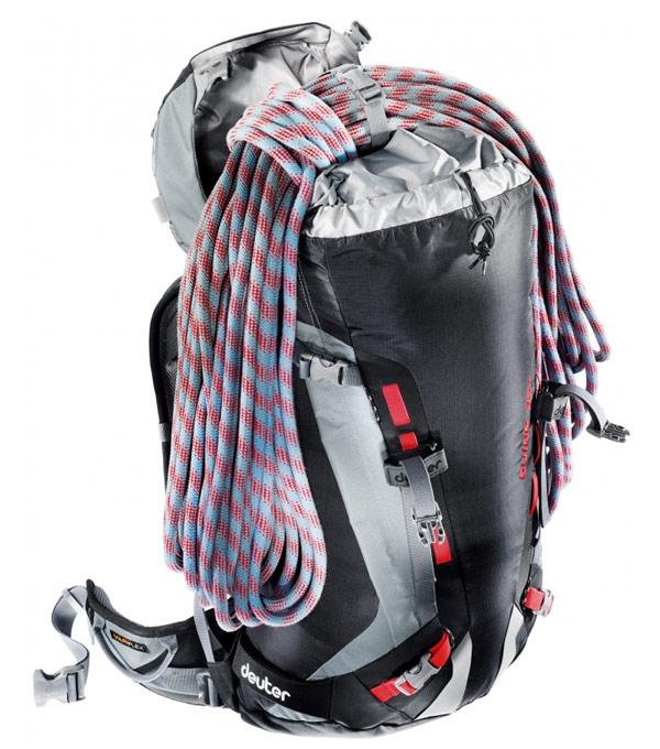 Туристический рюкзак Deuter Guide 45+ cranberry-anthracite