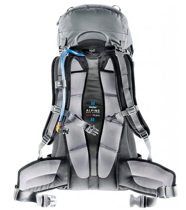 Туристический рюкзак Deuter Guide 45+ granite-black