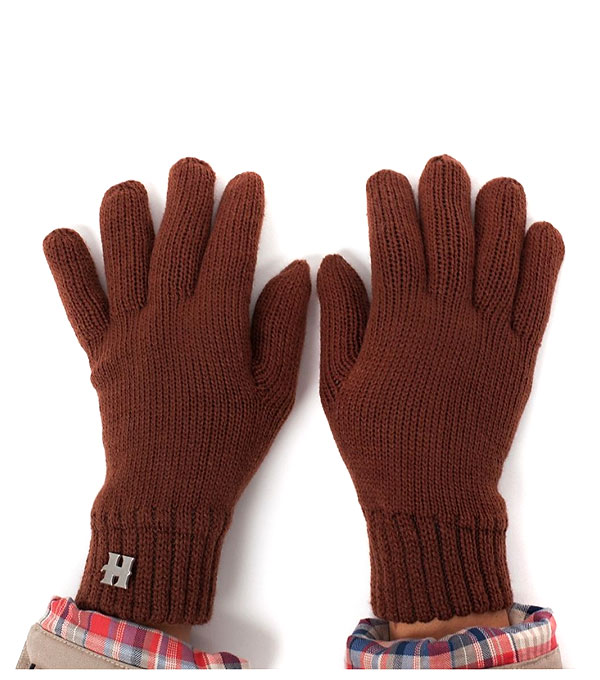 HARRISON HENRY STRONG GLOVES brown