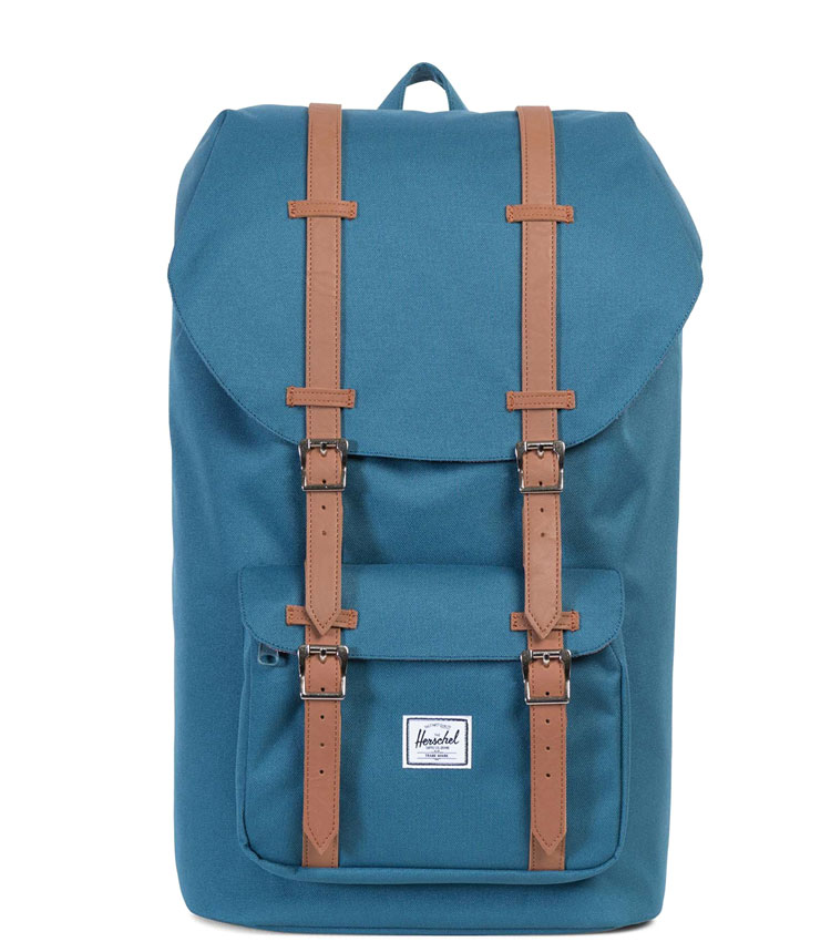 Рюкзак Herschel Little America MID Indian teal/Tan