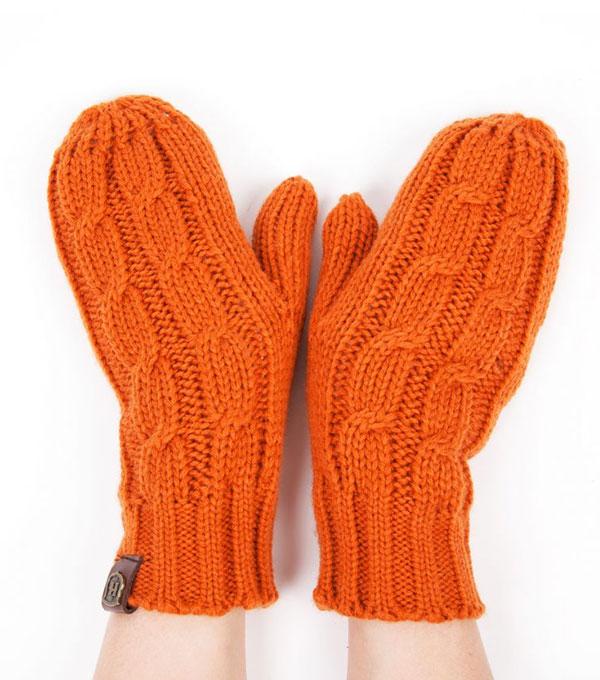 Варежки Harrison Annabel orange