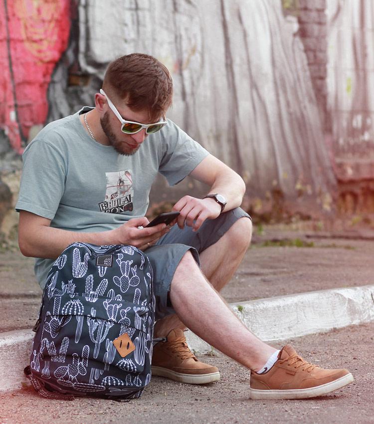 Рюкзак Just Backpack Vega cactus