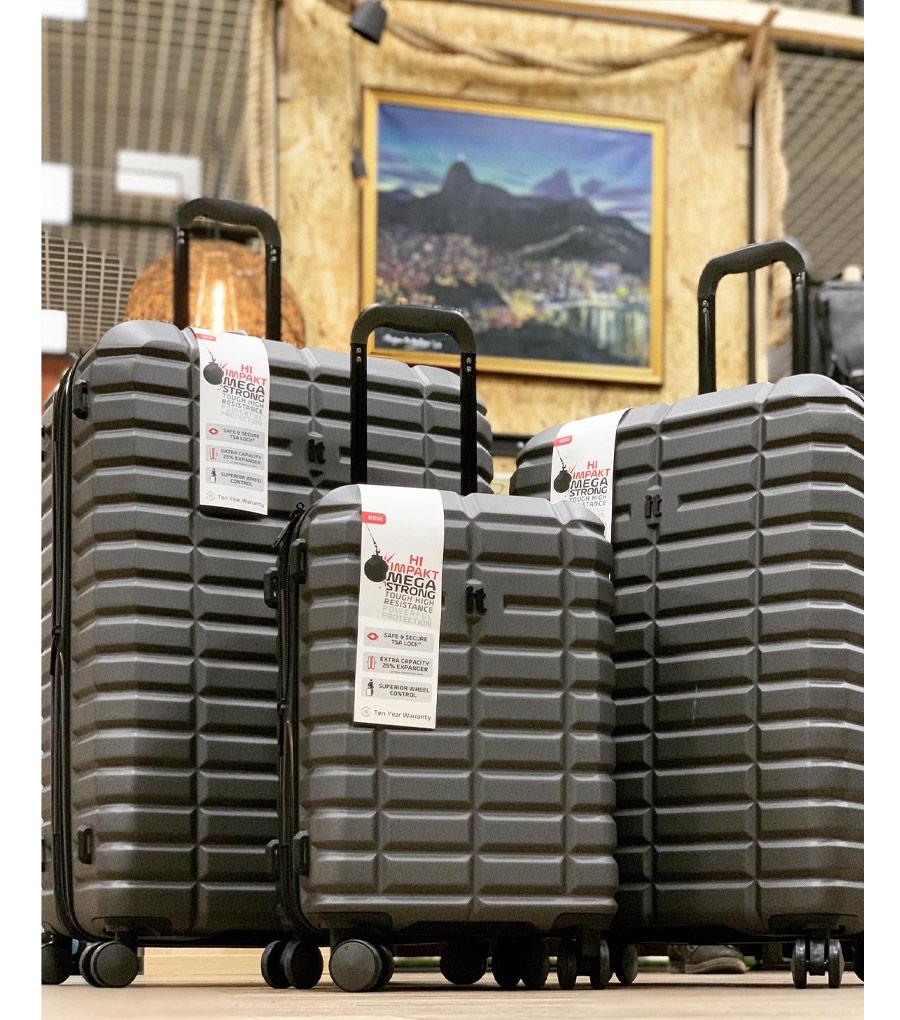 Малый чемодан IT Luggage Uphold 16-2432-08 (55 см) - Ribbon red ~ручная кладь~