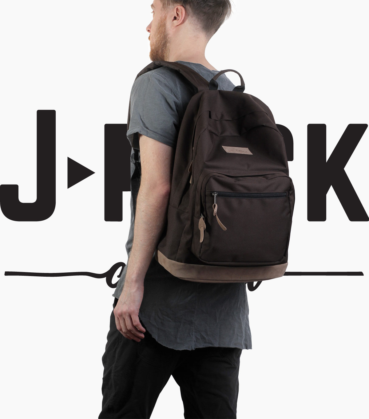 Рюкзак J-pack Original brown