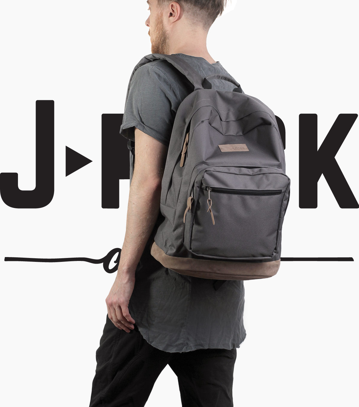 Рюкзак J-pack Original grey