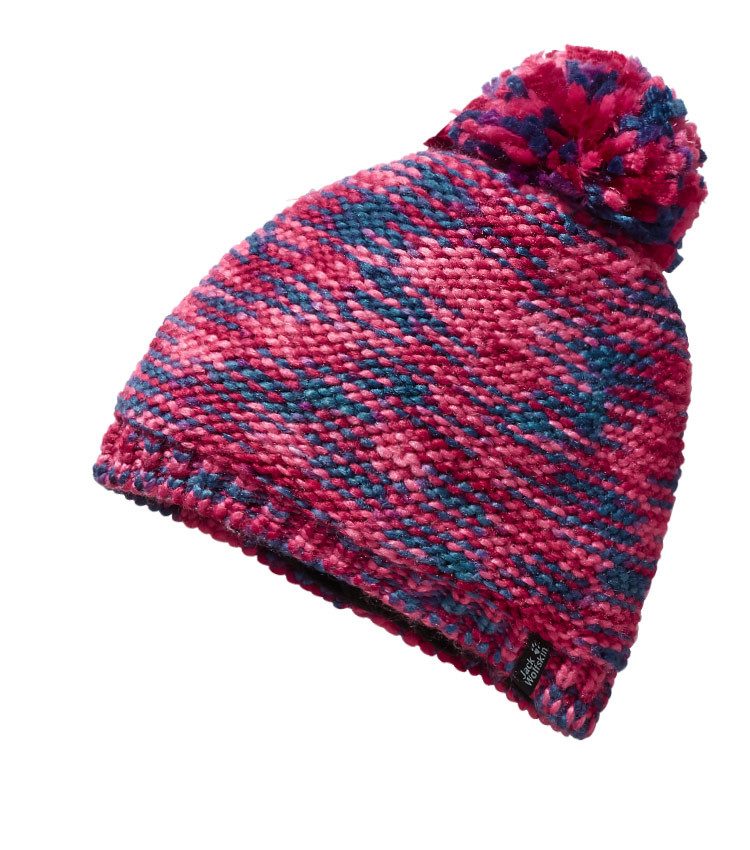 Детская шапка Jack Wolfskin KALEIDOSCOPE KNIT red