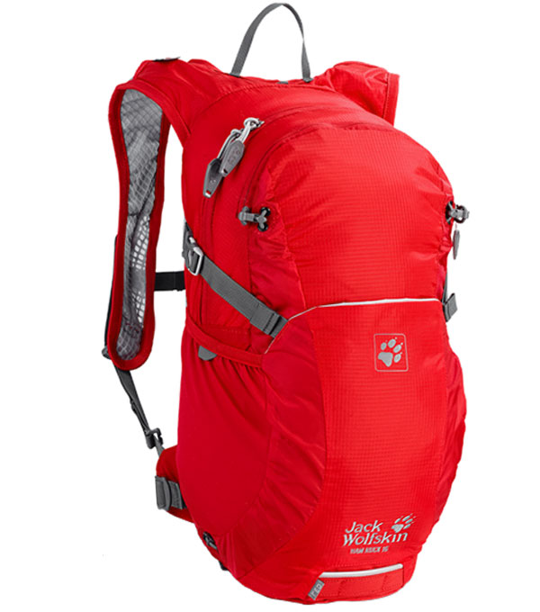 Рюкзак Jack Wolfskin Ham Rock 16 red fire