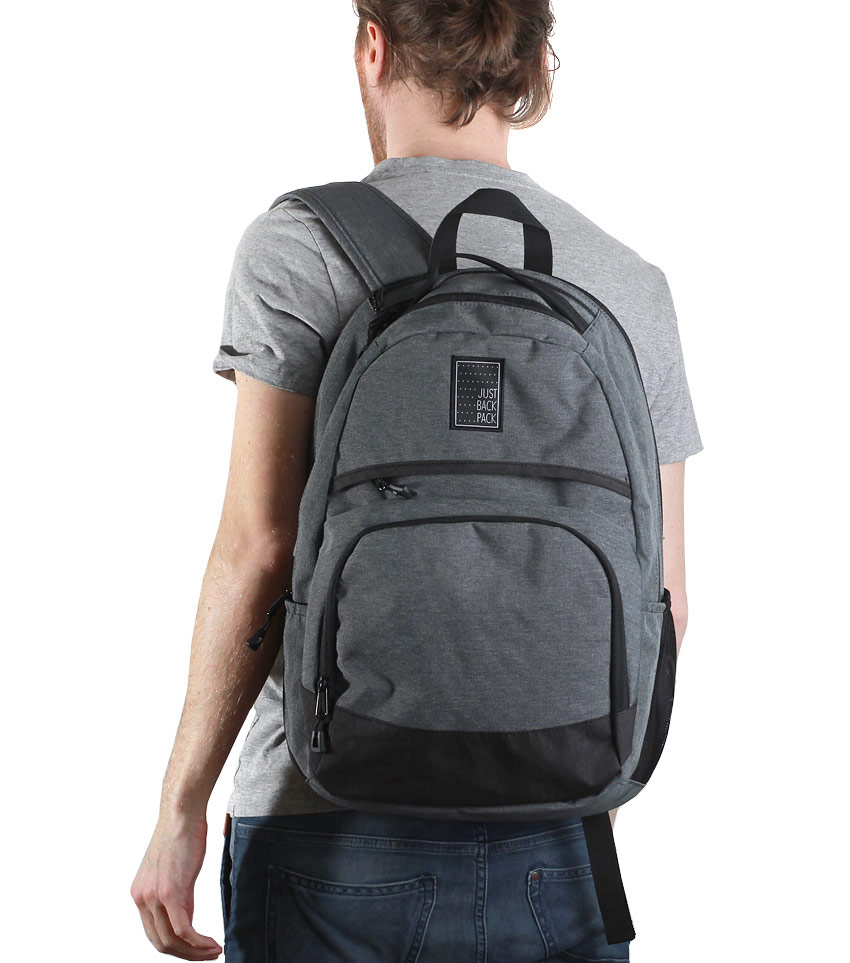 Рюкзак Just Backpack Atlas grey