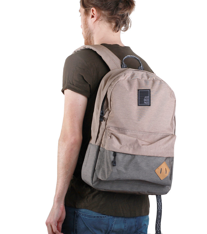 Рюкзак Just Backpack Vega light grey