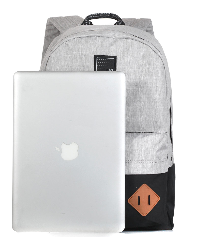 Рюкзак Just Backpack Vega light-grey-black