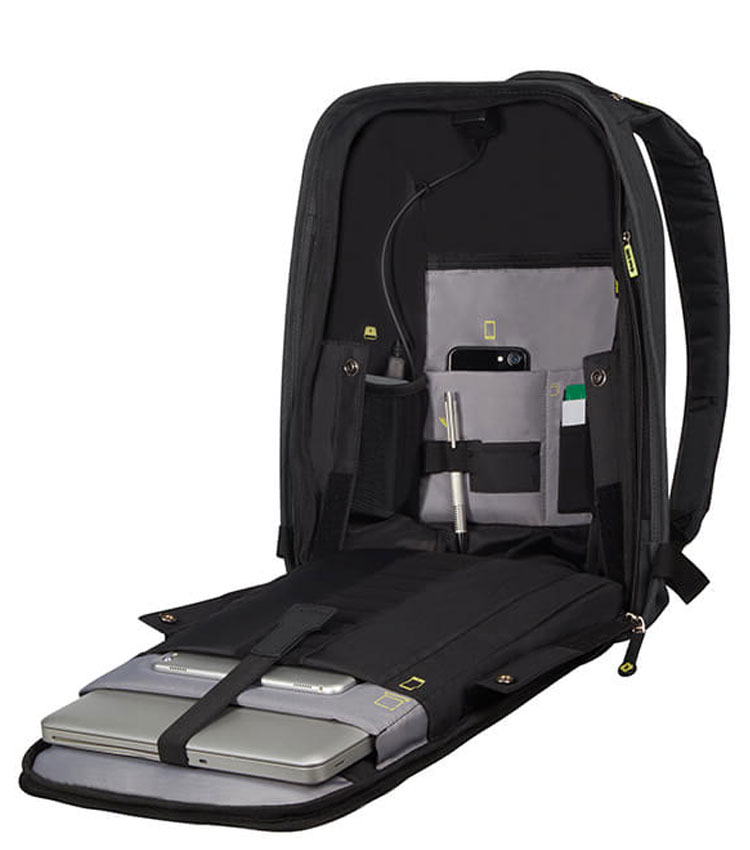 Рюкзак Samsonite Securipak 15.6 KA6*09001 - Black Steel