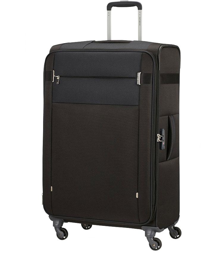 Большой чемодан Samsonite Citybeat (78 cm) KA7*09005 - Black