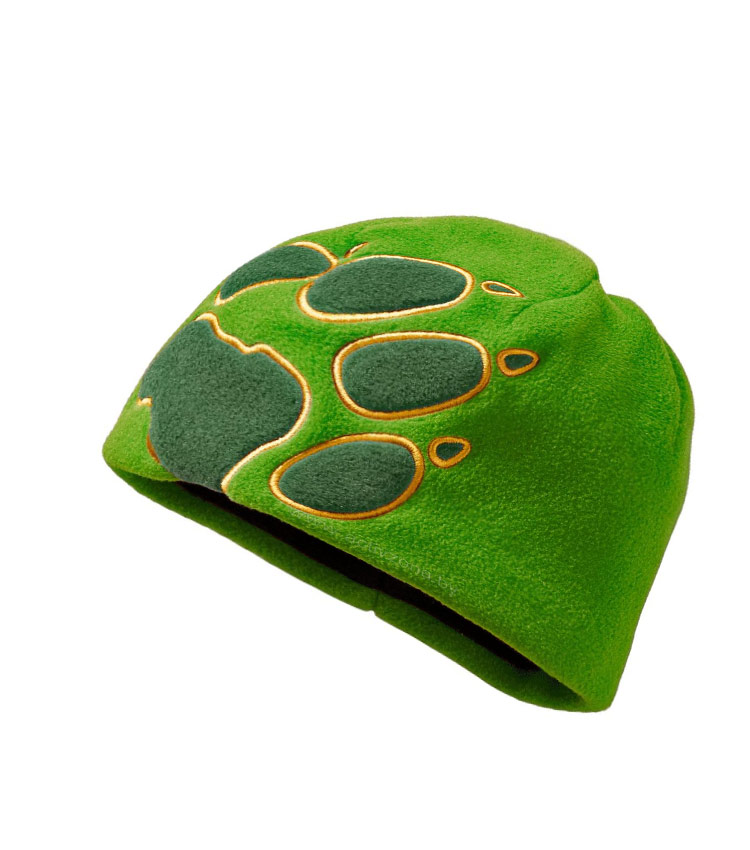 Детская шапка Jack Wolfskin CROSS green