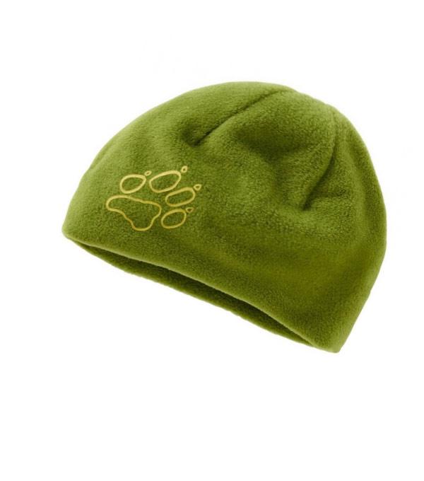 Детская шапка Jack Wolfskin Fleece-Cap green