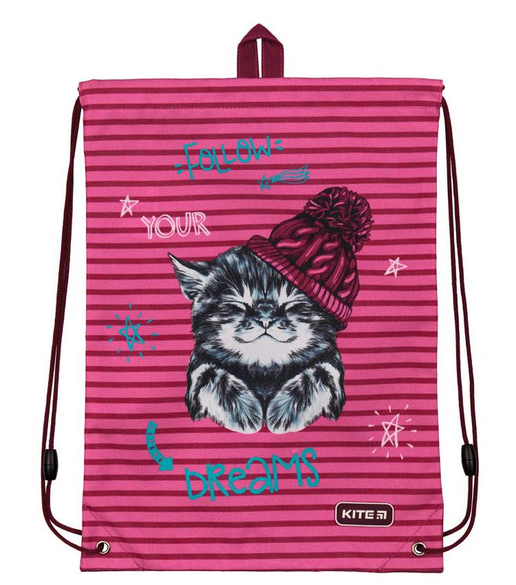 Рюкзак-мешок Kite Education Fluffy animals K19-600S-9