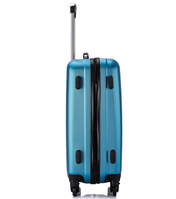 Большой чемодан спиннер Lcase Krabi blue (72 см)