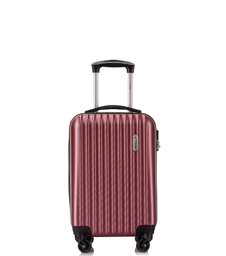 Малый чемодан спиннер Lcase Krabi wine (53 см)