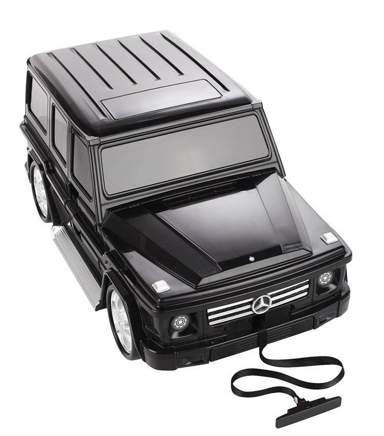 Детский чемодан Lcase Mercedes-Benz Gelandewagen - Black