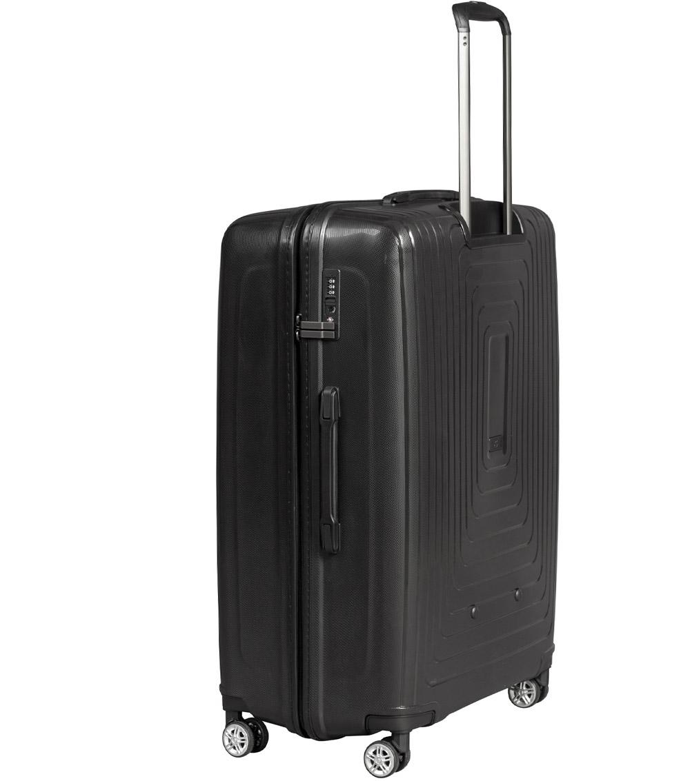 Большой чемодан L-case Moscow black