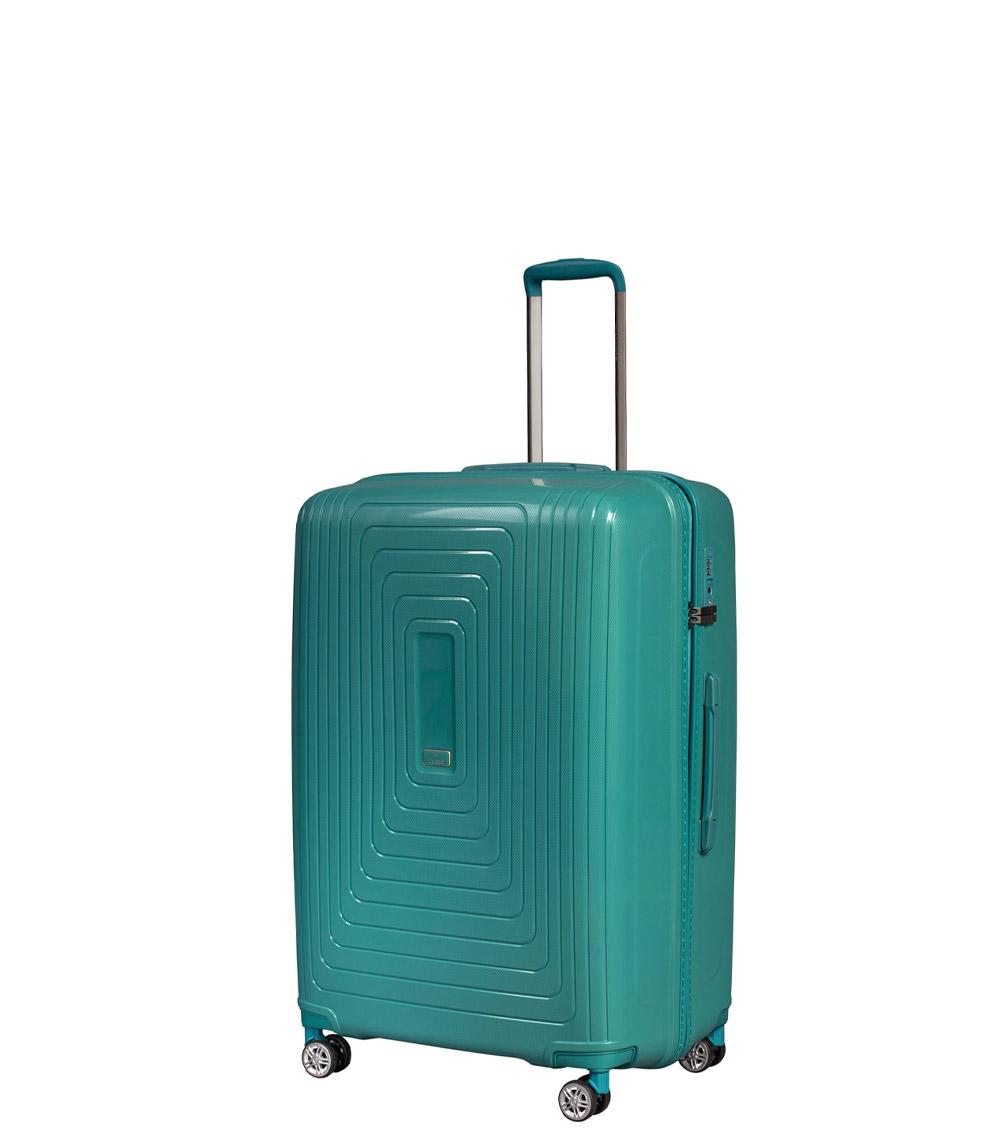 Малый чемодан L-case Moscow green ~ручная кладь~
