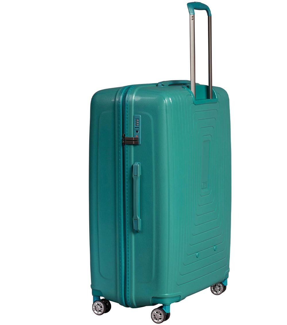 Средний чемодан L-case Moscow green