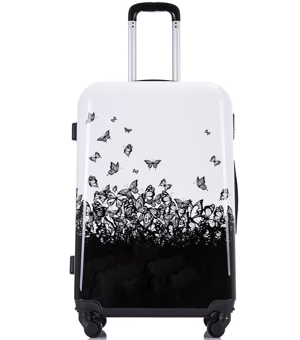 Средний чемодан L-case Butterfly (62 см)
