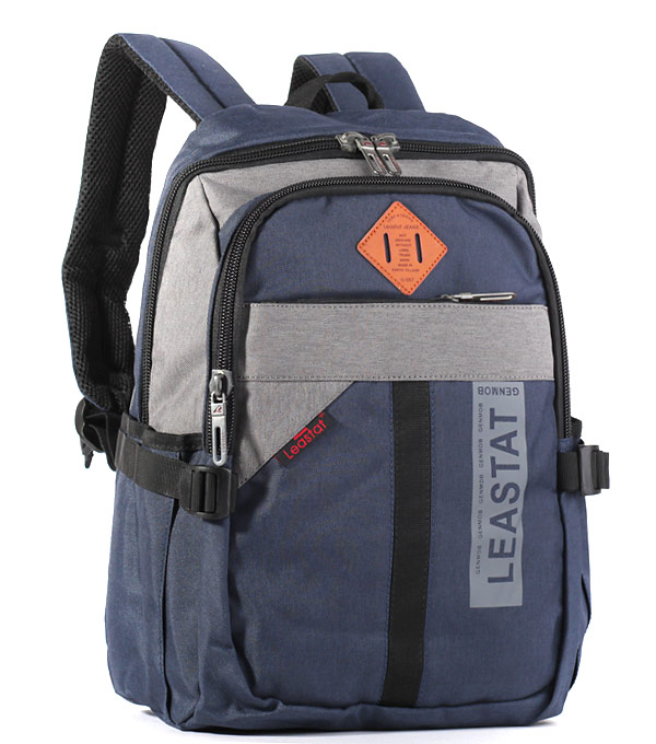 Рюкзак Leastat 3668 blue-grey