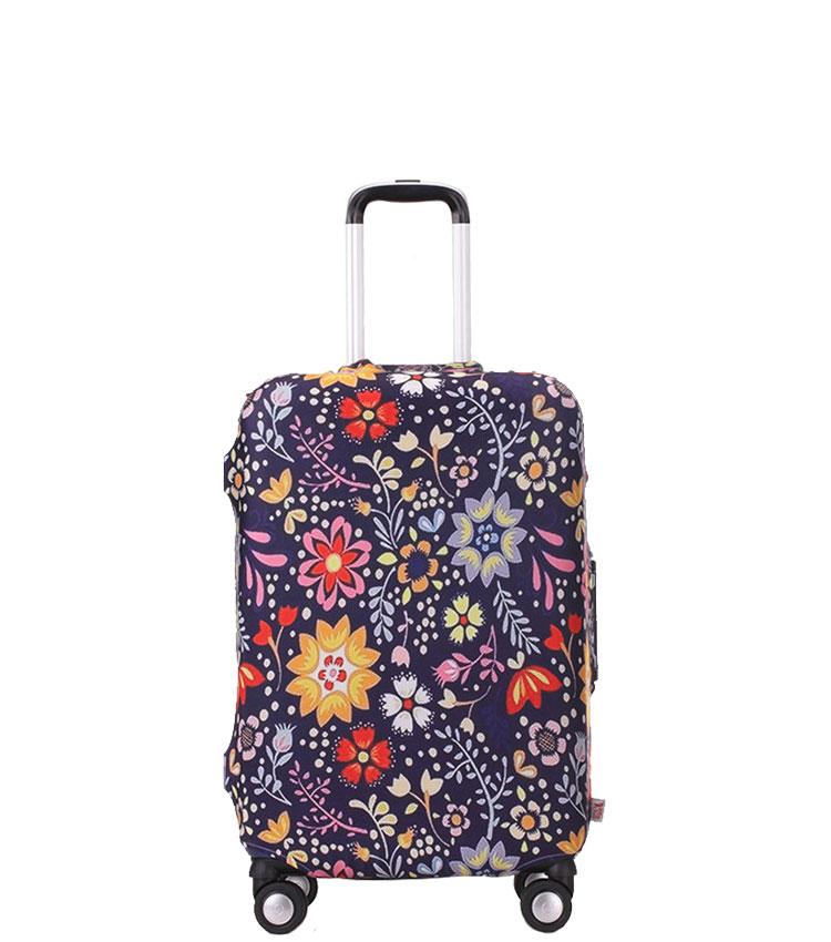 Чехол на чемодан Little Chili Flower pattern ~S~ (48–56 см)