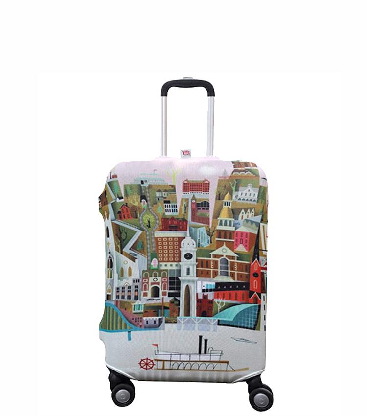 Чехол на чемодан Little Chili Big City ~S~ (48–56 см)