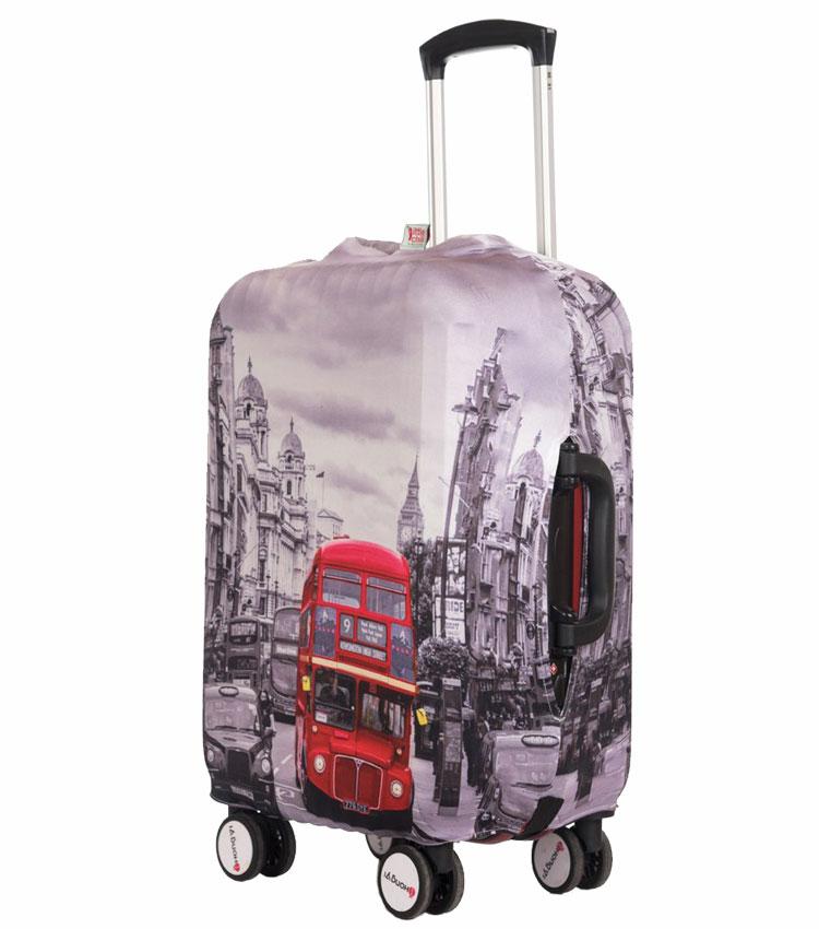Чехол на чемодан Little Chili London Bus ~M~ (55–67 см)