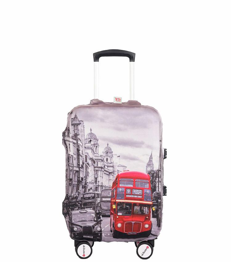 Чехол на чемодан Little Chili London Bus ~S~ (48–56 см)