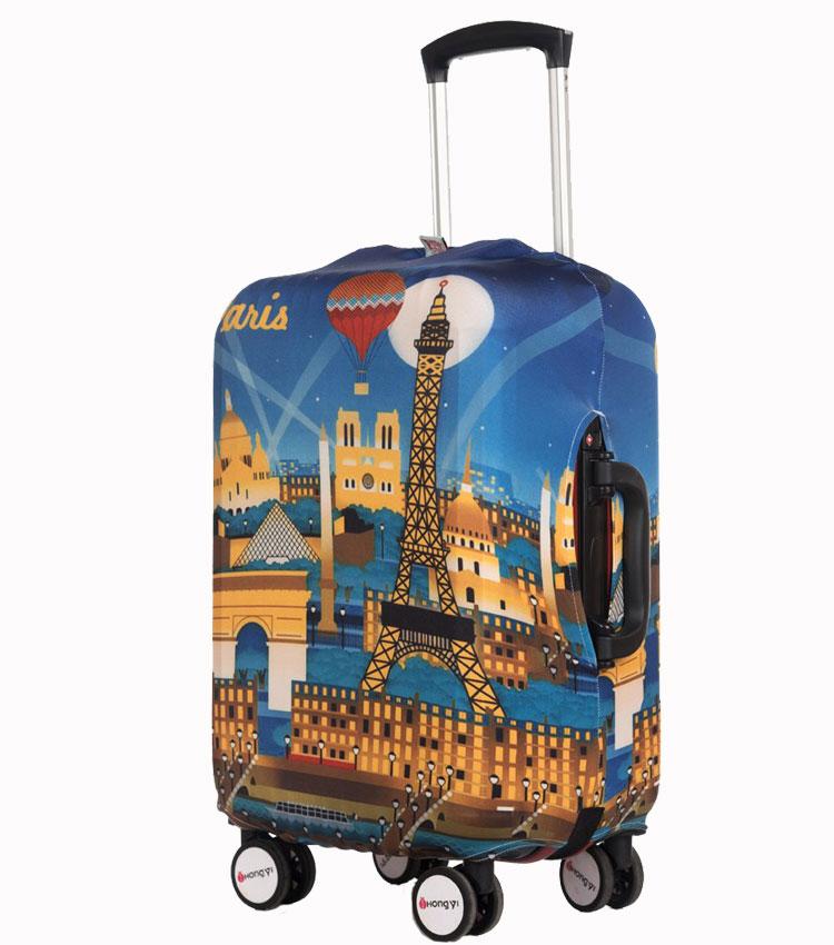 Чехол на чемодан Little Chili Paris ~S~ (48–56 см)