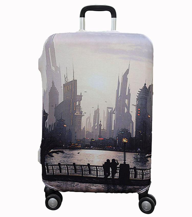 Чехол на чемодан Little Chili Sunset ~L~ (62–76 см)