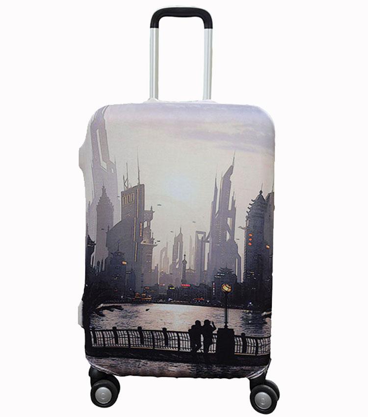 Чехол на чемодан Little Chili Sunset ~M~ (55–67 см)