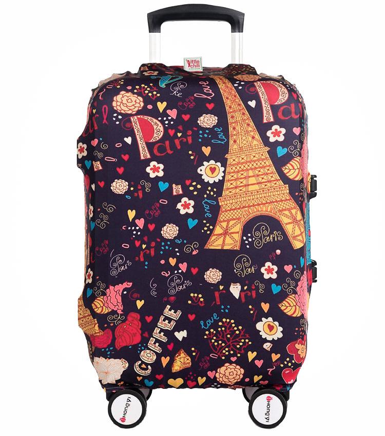 Чехол на чемодан Little Chili Sweet Paris ~L~ (62–76 см)
