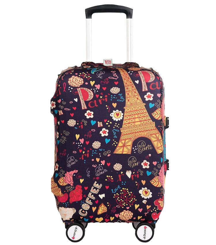 Чехол на чемодан Little Chili Sweet Paris ~M~ (55–67 см)