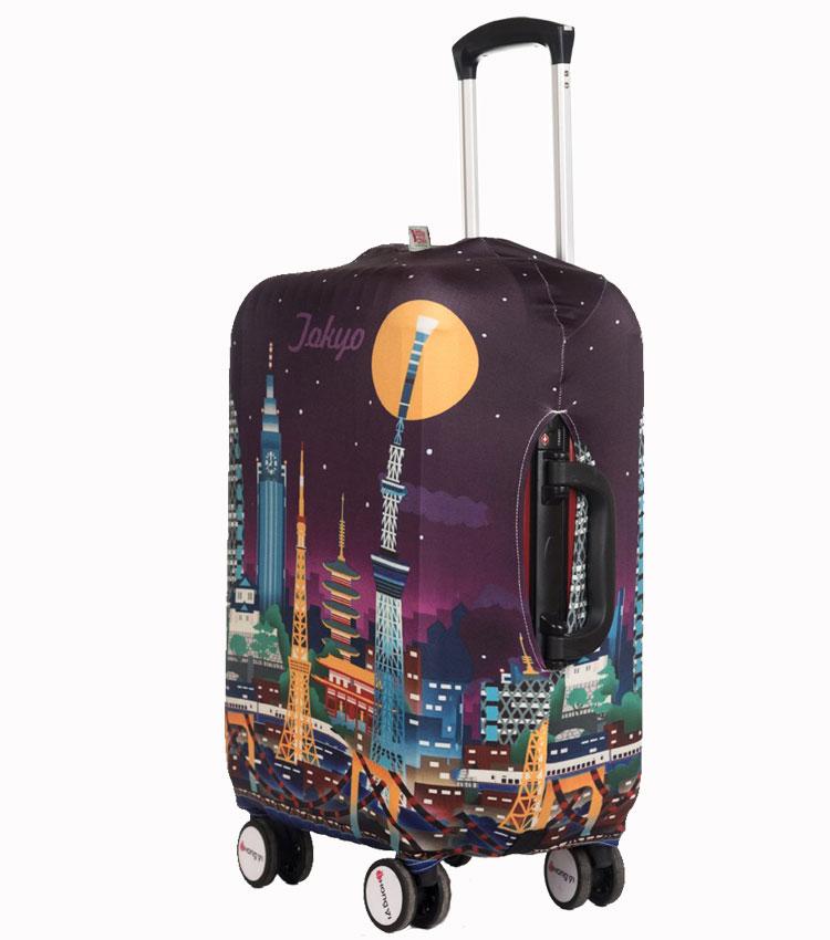Чехол на чемодан Little Chili Tokyo ~S~ (48–56 см)